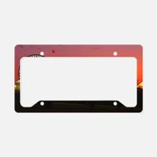 Santa Monica Pier License Plate Holder