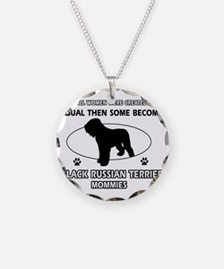 Black Russian Terrier Mommie Necklace