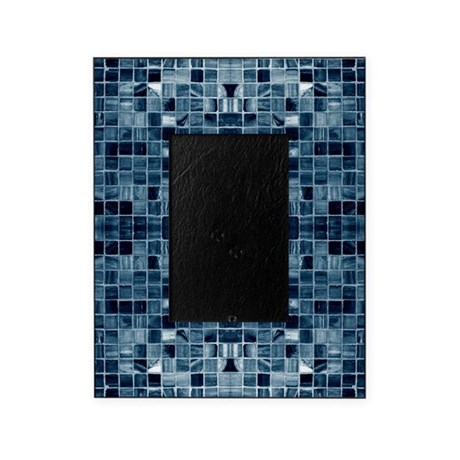Blue Mosaic Tile Effect Picture Frame By Admin Cp9113865