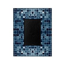 Blue Mosaic Tile Effect Picture Frame