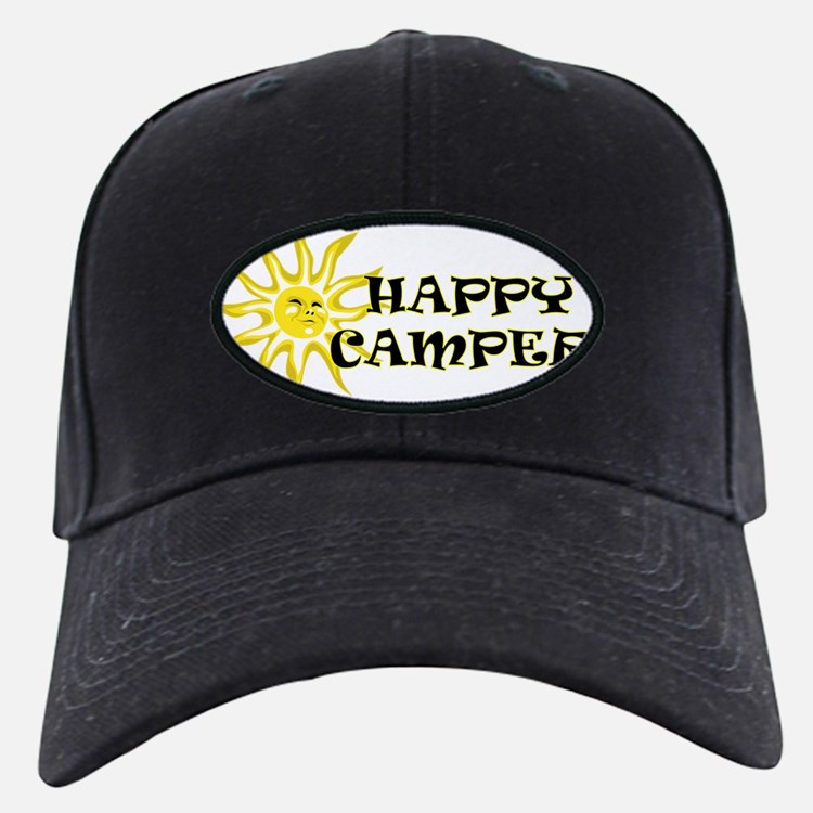 Happy Camper Sunshine Baseball Hat