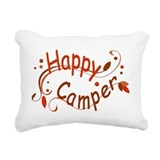 Camping Rectangle Canvas Pillows