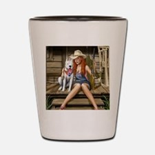 Southern Girl Shot Glass