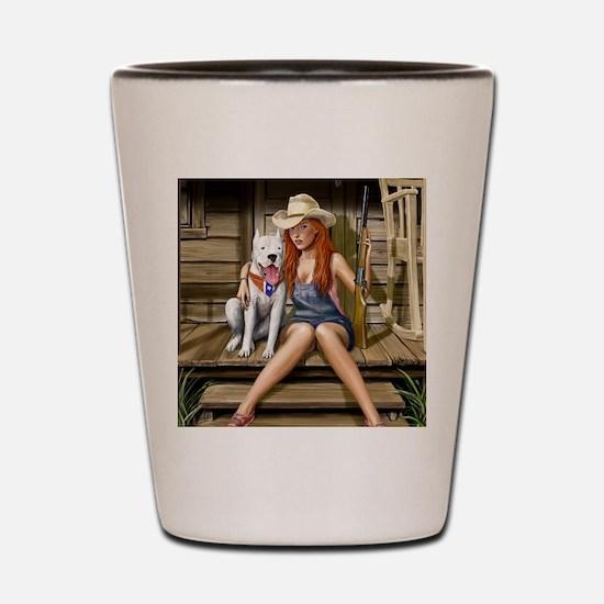 Southern Girl Shot Glass