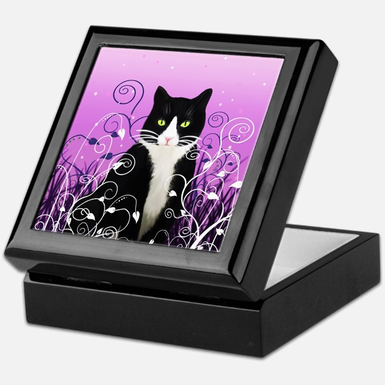 Tuxedo cat decor decorative accessories for the home for Cat home decorations