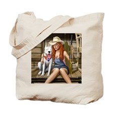 Southern Girl for mousemat Tote Bag