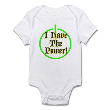 i have the power Infant Bodysuit
