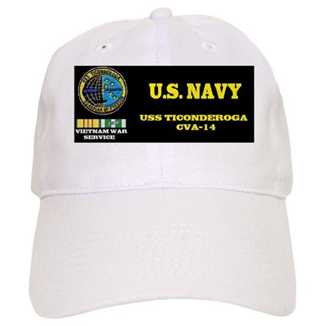 CVA14 USS TICONDEROGA Cap