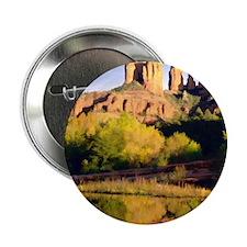 "Red Rocks of Sedona Arizona copy 2.25"" Button"