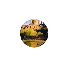 Red Rocks of Sedona Arizona copy Mini Button