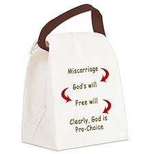 miscarriagefordark Canvas Lunch Bag