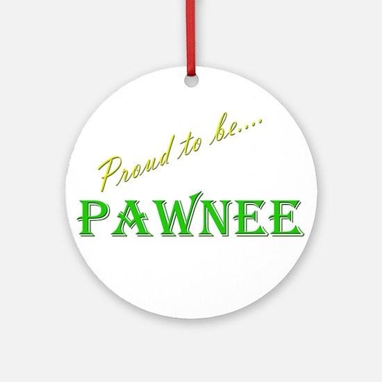 Pawnee Ornament (Round)