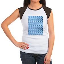 Bow Legged Woman Women's Cap Sleeve T-Shirt