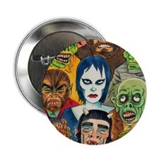 """MAD MONSTERS 2.25"""" Button"""