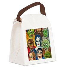 MAD MONSTERS Canvas Lunch Bag