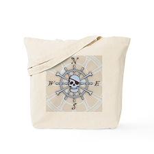 ship-wheel-sk-LG Tote Bag