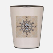 ship-wheel-sk-LG Shot Glass