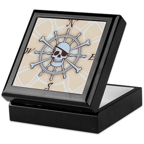 ship-wheel-sk-LG Keepsake Box