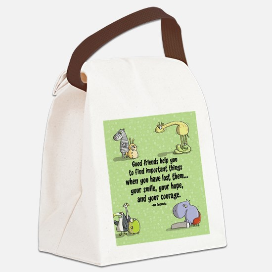 Good friends Canvas Lunch Bag