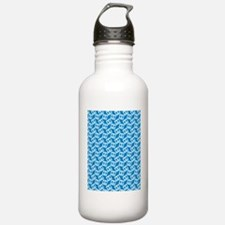 Bow Legged Woman Water Bottle