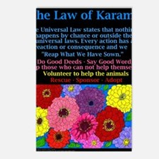 The Law Karma Postcards (Package of 8)