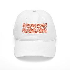 Beach Coral Baseball Cap