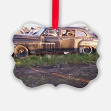 50s Rust Ornament