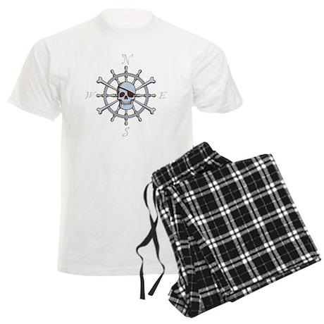 ship-wheel-sk-DKT Men's Light Pajamas