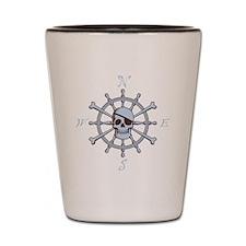 ship-wheel-sk-DKT Shot Glass