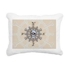 ship-wheel-sk-OV Rectangular Canvas Pillow