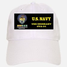 CVA34 USS ORISKANY Baseball Baseball Cap