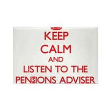 Keep Calm and Listen to the Pensions Adviser Magne