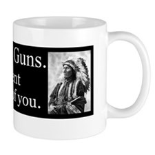 Turn in Your Guns Small Mug