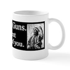Turn in Your Guns Small Small Mug