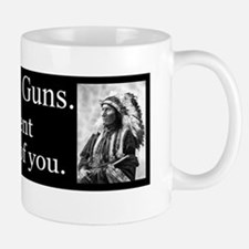 Turn in Your Guns Small Small Mug