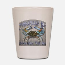 Chesapeake Bay Blues Shot Glass