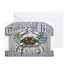 Chesapeake Bay Blues Greeting Card