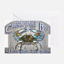 Chesapeake Bay Blues Greeting Card