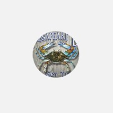 Chesapeake Bay Blues Mini Button