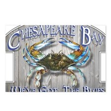 Chesapeake Bay Blues Postcards (Package of 8)