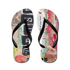Proverbs 3:5-6 Flip Flops