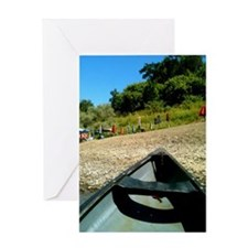 Canoe S.H.P Greeting Card