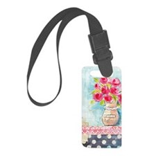 iphone Happy Luggage Tag