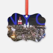 New York at Night Ornament