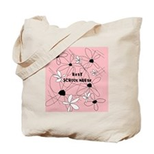 Best School Nurse Tote Bag