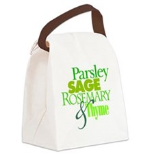 Parsley, Sage, Rosemary & Thyme Canvas Lunch Bag