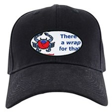 Crab Bumper Sticker Baseball Hat