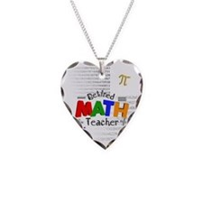 Retired Math Teacher 1 Necklace