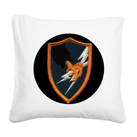 ASA for Car Grill Logo Square Canvas Pillow