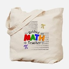 Retired Math Teacher 1 Tote Bag
